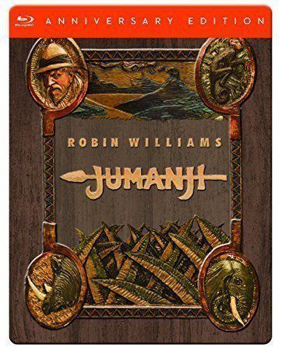 Jumanji Anniversary Edition Limited Edition Blu- Ray DVD, region 2, France
