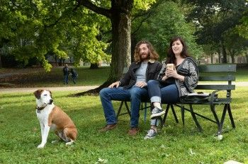 While the dog may grab most of the attention, Allison Tolman does have a human co-star on Downward Dog and she says she's never clicked with another actor the way she has with Lucas Neff    #DownwardDog #LucasNeff #AllisonTolman #ABC #ABCTelevisionNetwork