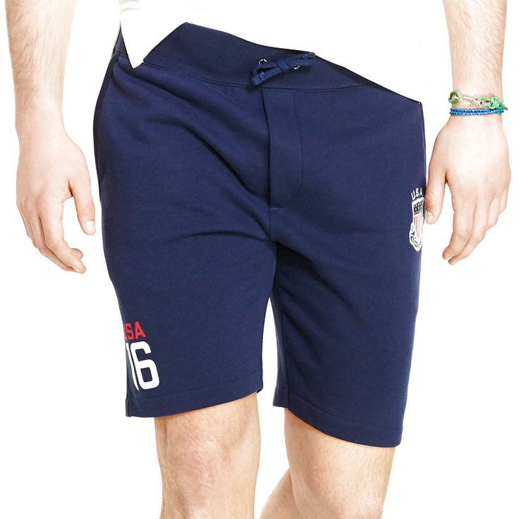 Team USA Polo Ralph Lauren 2016 Olympics Fleece Shorts - Navy - $67.44
