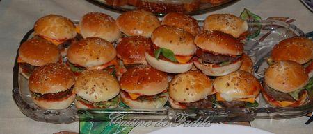 mini burger : recette des petits pains (recette des 10 minutes...)