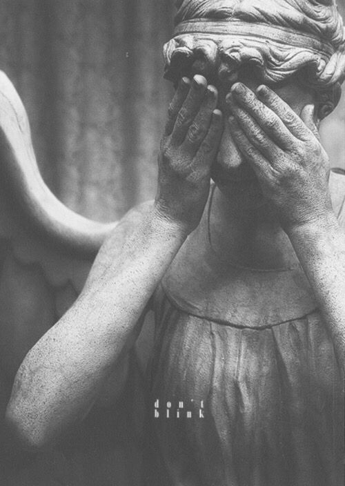 A Weeping Angel Donu0027t Blink Blink And Your Dead Good Luck
