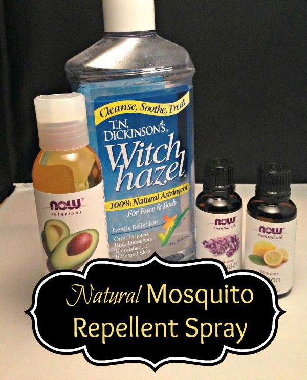 Natural Oil Mosquito Repellent