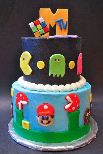 23 best 80s cake images on Pinterest 80 s 80s theme and
