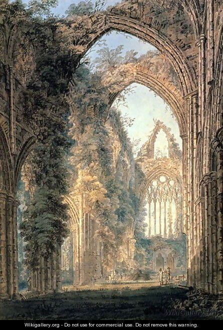 Tintern Abbey  - Thomas Girtin