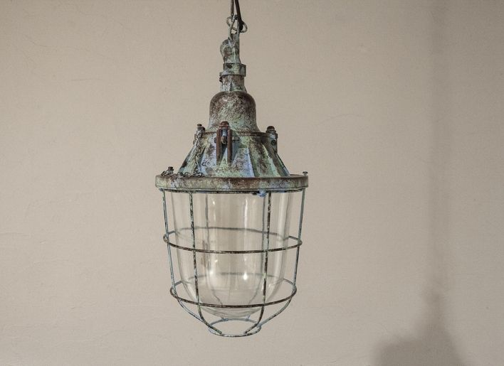 Verweerde hanglamp Quintos blauw