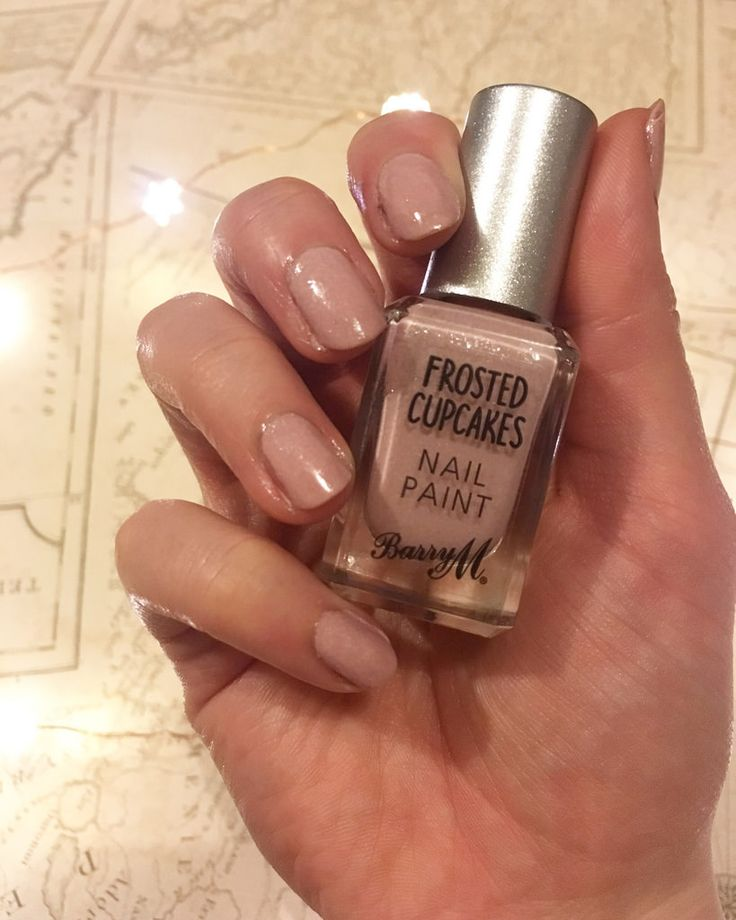 Barry M Nail Polish Frosted Cupcake | The CSI Girls