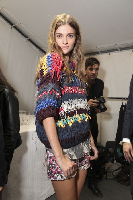 isabel marant knitwear  from > love FREIDAY: [ chunky cool ]
