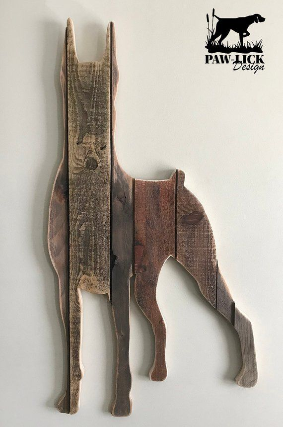 Doberman Pincher Sold Order Yours Now Wood Art Wood Decor Woodworking
