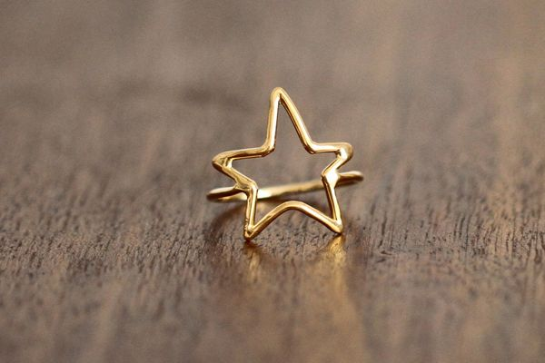 porter gulch gold star ring: Fashion, Silver Stars, Style, Star Rings, Gold Stars, Jewelry, Things, Accessories, Porter Gulch