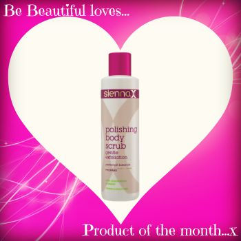 Be Beautiful loves Sienna X' Polishing Body Scrub