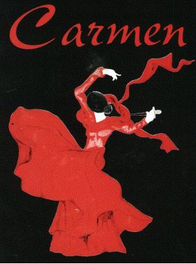 Vintage Carmen poster.