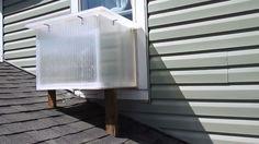 Aprenda a fazer um aquecedor solar para janela que também funciona como forno