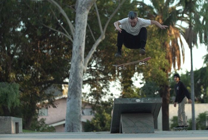 Lacey Baker works hard. Both on and off her board. By day she's a graphic designer, but outside the office she's one of the most technical street skaters in women's skateboarding.