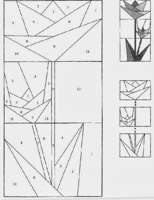 Las tardes de patchwork: Plantillas