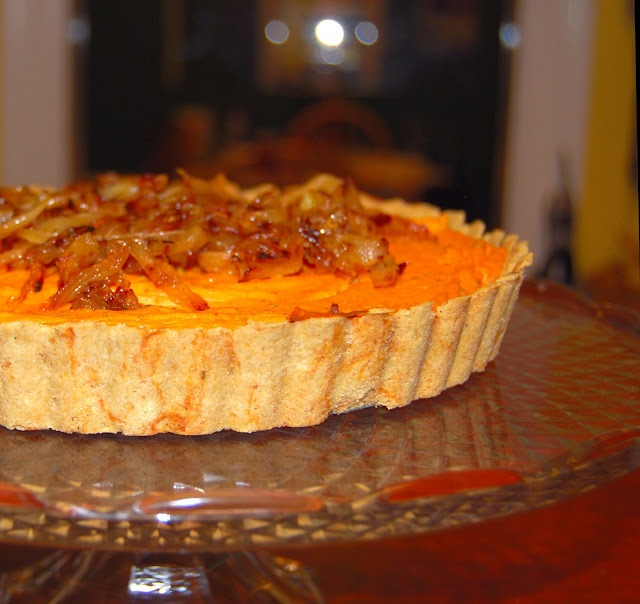 Savory Sweet Potato Quiche Recipe