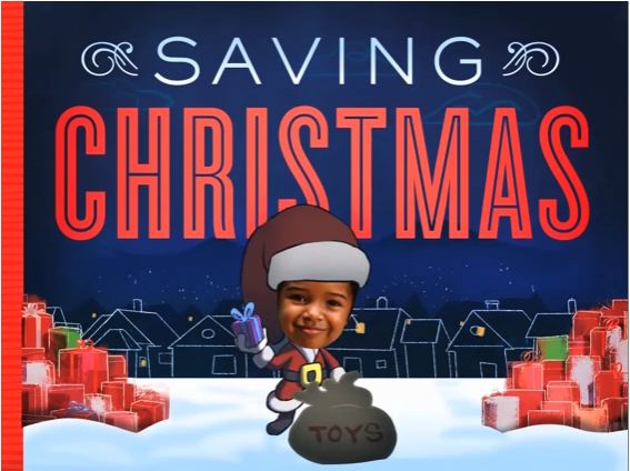Saving Christmas: An interactive ebook starring your own kids, from the folks behind JibJab.: App