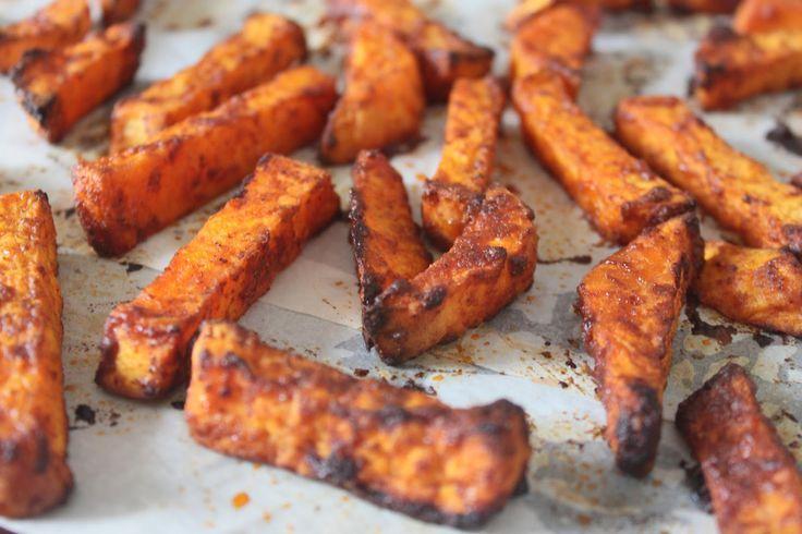 La Cuisine de Bernard : Frites Épicées de Patate Douce au Four