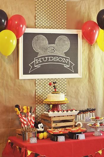 Hostess with the Mostess® - Hudson's Mickey Mouse Third Birthday