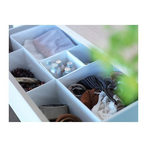 Skubb Box Set Of 6 White Jewelry Storage Boxes And Belt