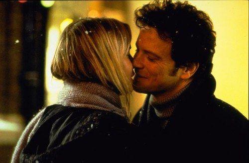Renée Zellweger y Colin Firth en El diario de Bridget Jones (2001)