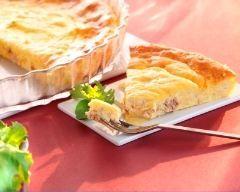 Quiche sans pâte au thon et à la crème (facile, rapide) - Une recette CuisineAZ