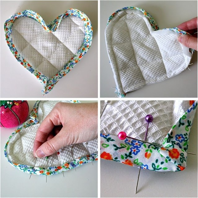 How to sew bias tape the right way and the cheating way.