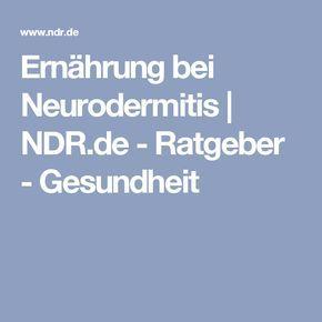 Ernährung bei Neurodermitis | NDR.de - Ratgeber - Gesundheit