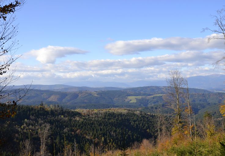 Osrblie 18.10.2014 - panorama, Slovensko * Osrblie 18.10.2014 - panorama, Slovakia