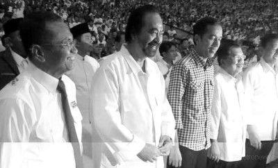 Bersama 8.000 Relawan, Dahlan Iskan Deklarasi Dukung Jokowi-JK