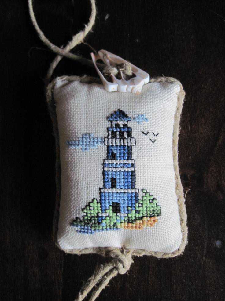 Faro ~ Lighthouse ~ Cross Stitch