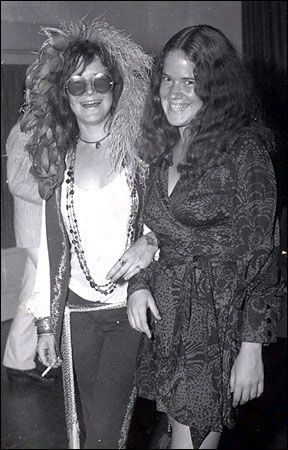 rare janis joplin and her sister pictures | courtesy of michael joplin janis joplin left with her younger sister ...