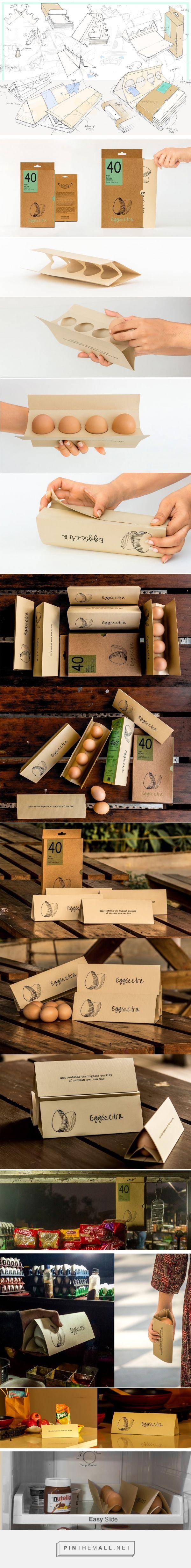 Eggscetra - compact egg packaging design by Marmik Patel - https://www.packagingoftheworld.com/2018/03/eggscetra.html