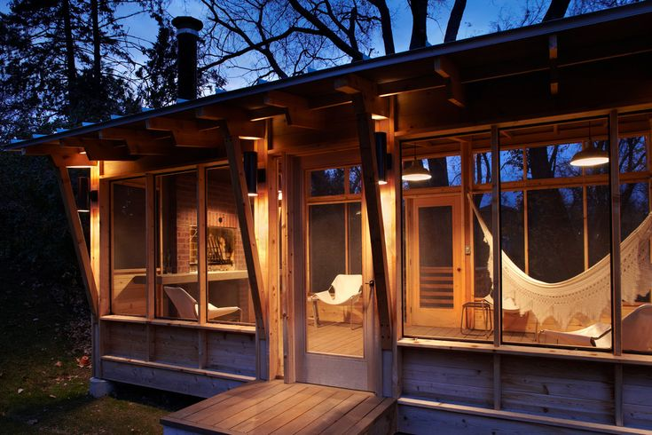 Impressive seagull lighting in Porch Rustic with Hammock Ideas next to Single Slope Roof alongside Screen House and Hammocks