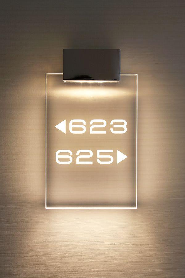 Guestroom numbers in corridors - www.galaxy-hotel.com