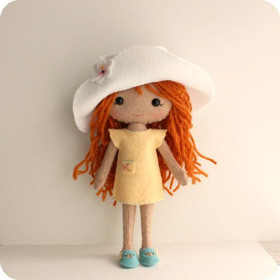 Summer Outfit pdf Pattern for Pocket Poppet Doll by Gingermelon