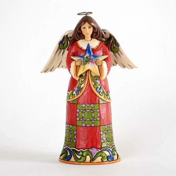 Jim Shore Heavenly First Noel - De Vrolijke Engel