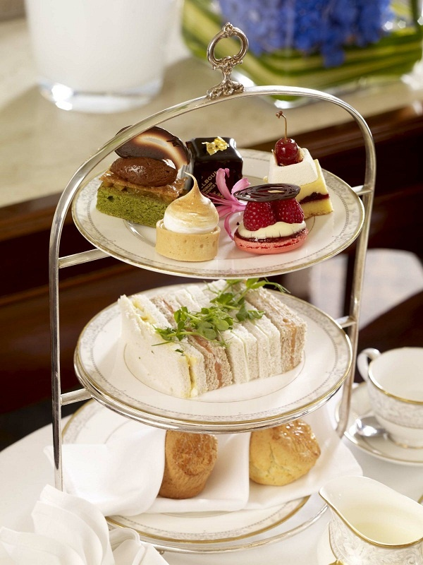 The Shelbourne Afternoon Tea in The Lord Mayor's Lounge.