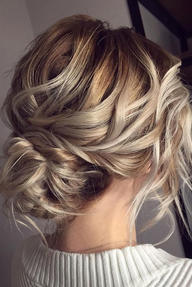 Top 30 Ideas Of Wedding Updos For Medium Hair Wedding Forward Messy Wedding Hair Wedding Hairstyles Updo Messy Hair Styles