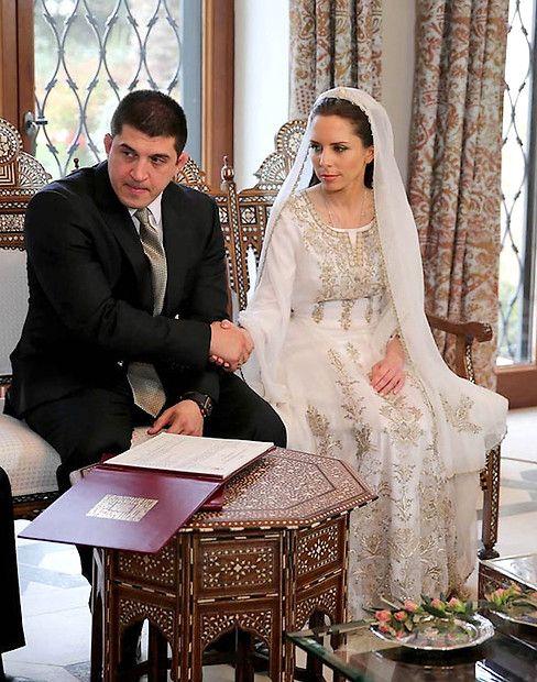 22. März 2013:- Prinzessin Iman von Jordanien mit Zaid Azmi Mirza