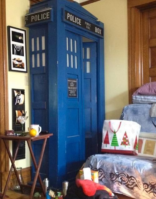 Tardis Doors Inside