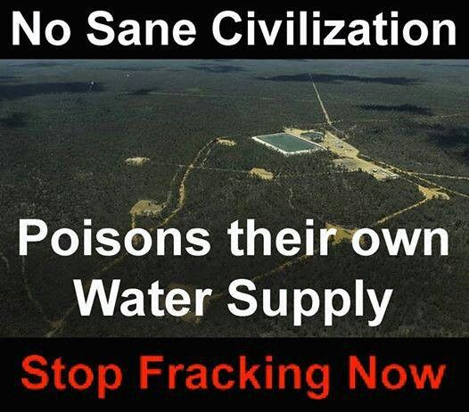 Stop the Freaking Fracking already -- this is insane!