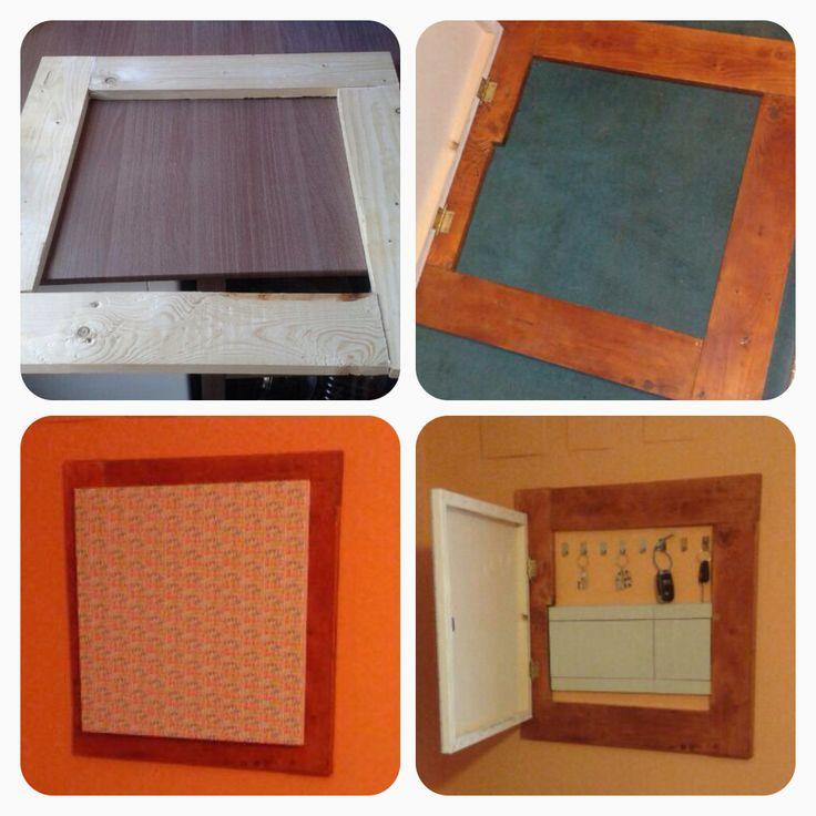 Cubre cuadro el ctrico y guarda llaves cosas de casa - Cubre cuadro electrico ...