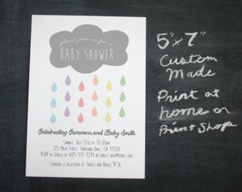 Baby Shower or bridal shower Cloud and by AllThemesPossible