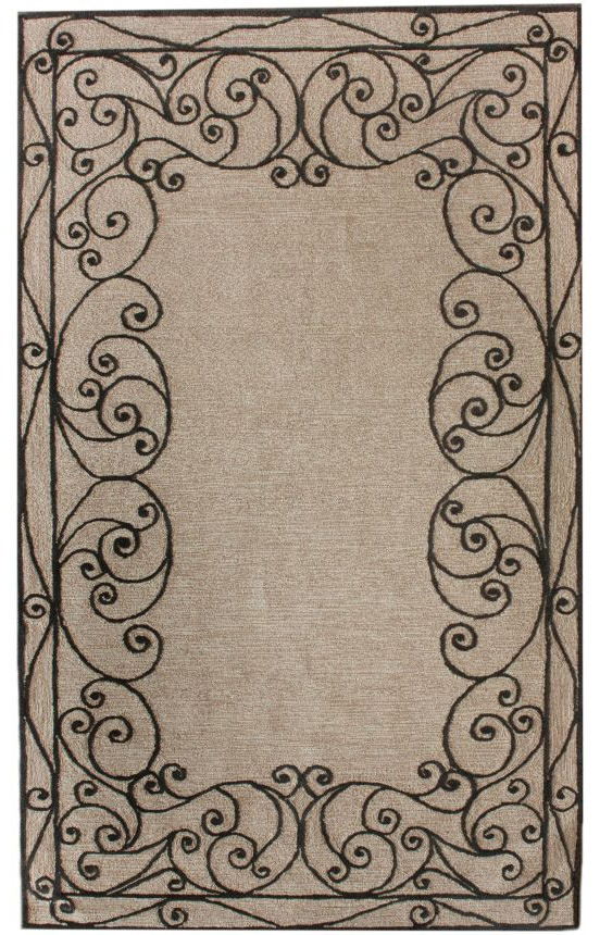 rugs usa....great rugs for a great price like this Quinta Scroll Ash Rug