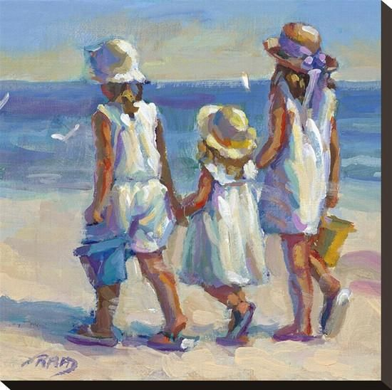 Sunday Best Stretched Canvas Print by Lucelle Raad at Art.com