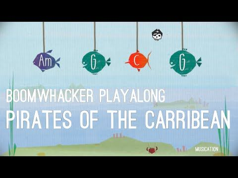 Pirates of the Carribean - Boomwhacker Playalong - YouTube