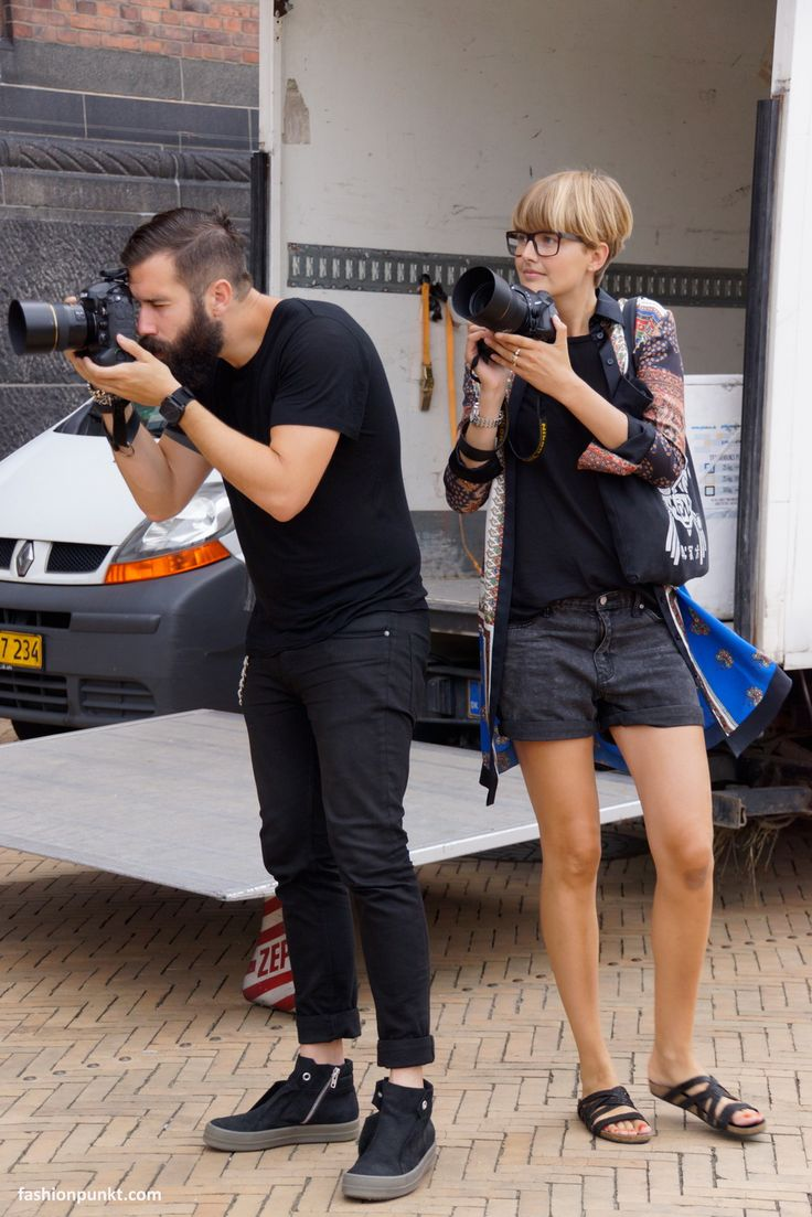 "Copenhagen Fashion Week SS15 Adam Katz Sinding from ""le-21eme.com"" and photographer Louise Nordtorp Veng"