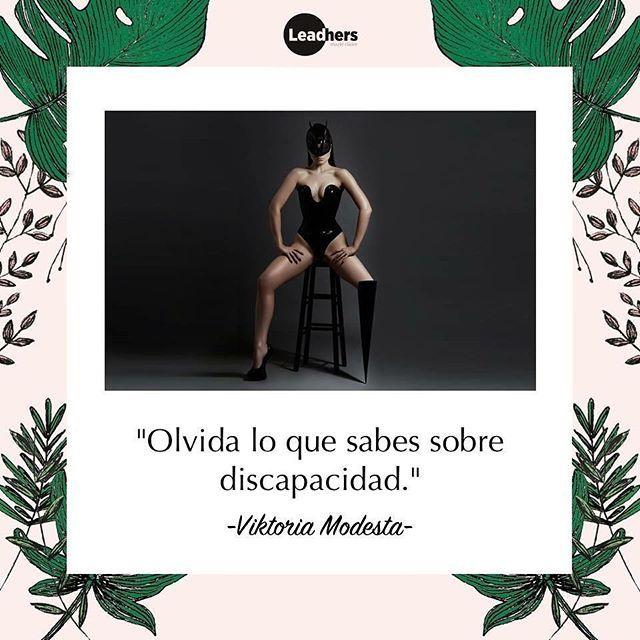 @viktoriamodesta es la 'Modern Muse' de Leadhers 2017. A los 19 años tuvo una amputacion voluntaria debido a una negligencia medica al momento de su nacimiento. Hoy es una 'artista pop biónica' que está redefiniendo el significado de discapacidad en todo el mundo. #MCLeadhers #ViktoriaModesta  via MARIE CLAIRE MEXICO MAGAZINE OFFICIAL INSTAGRAM - Celebrity  Fashion  Haute Couture  Advertising  Culture  Beauty  Editorial Photography  Magazine Covers  Supermodels  Runway Models