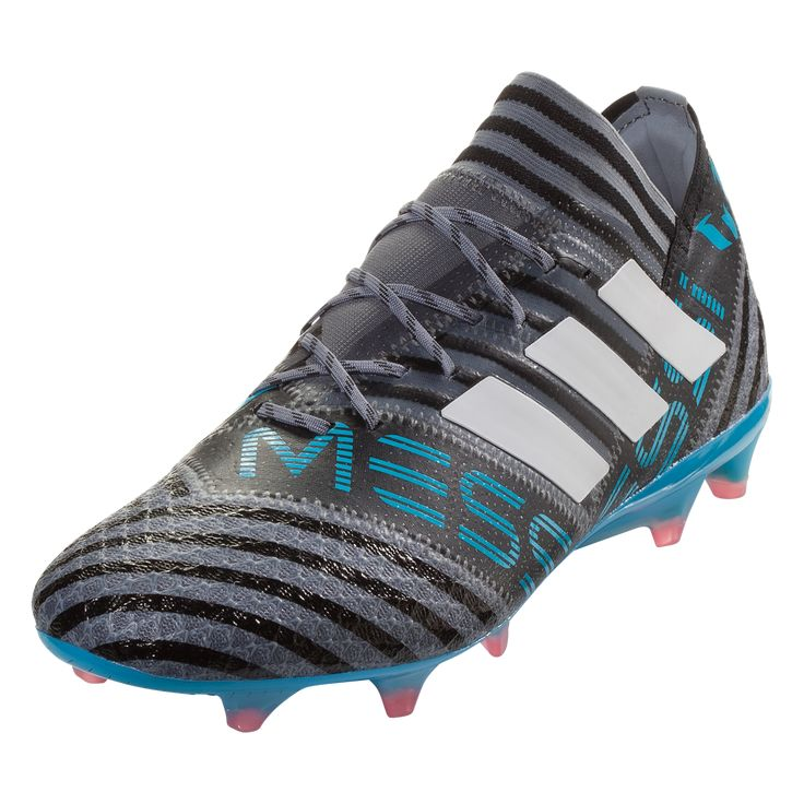 db28ba00d adidas Nemeziz Messi 17.1 FG Soccer Cleats Grey/White/Black-6.5 in 2019    Products   Soccer cleats, Cleats, Adidas