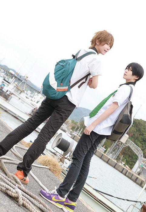 Nanase Haruka (kuryu - WorldCosplay)   Free! #cosplay #anime I want Haru-Chans shoes!